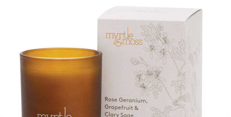 Rose Geranium + Grapefruit + Clary Sage