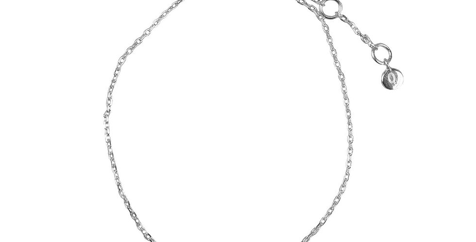 Star Crystal Bracelet- Silver