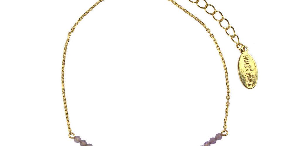 Amethyst Bracelet- Gold