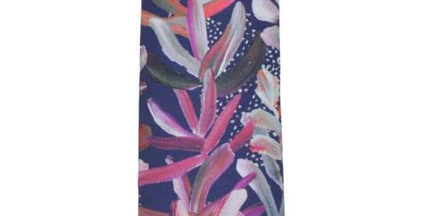 Cotton Tie- Protea Navy