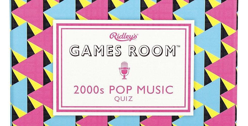 2000s Pop Music Trivia