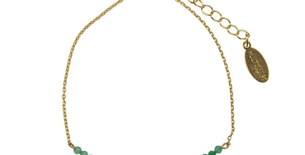 Green Onyx Stone Bracelet