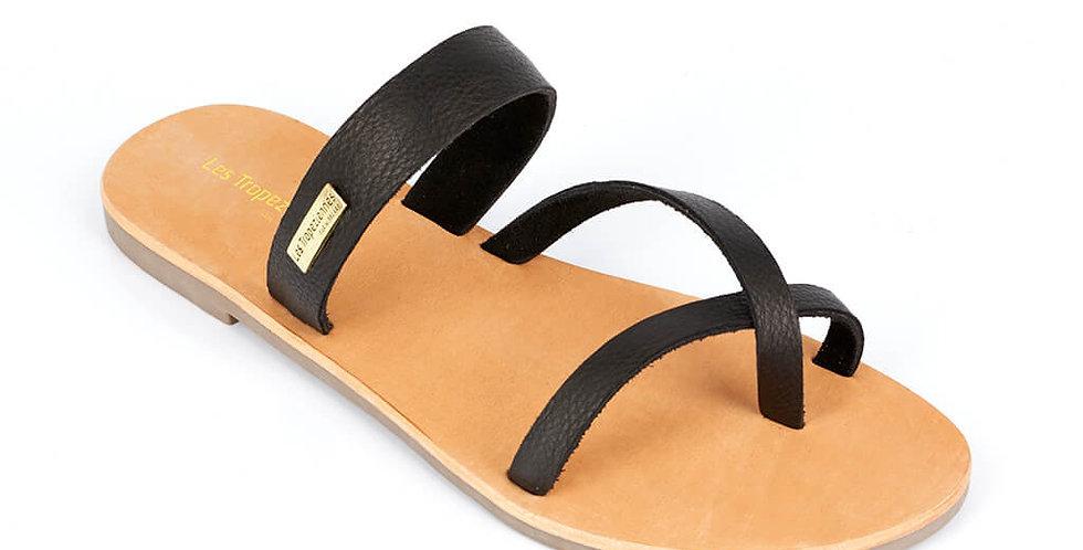 Princess Black Sandals