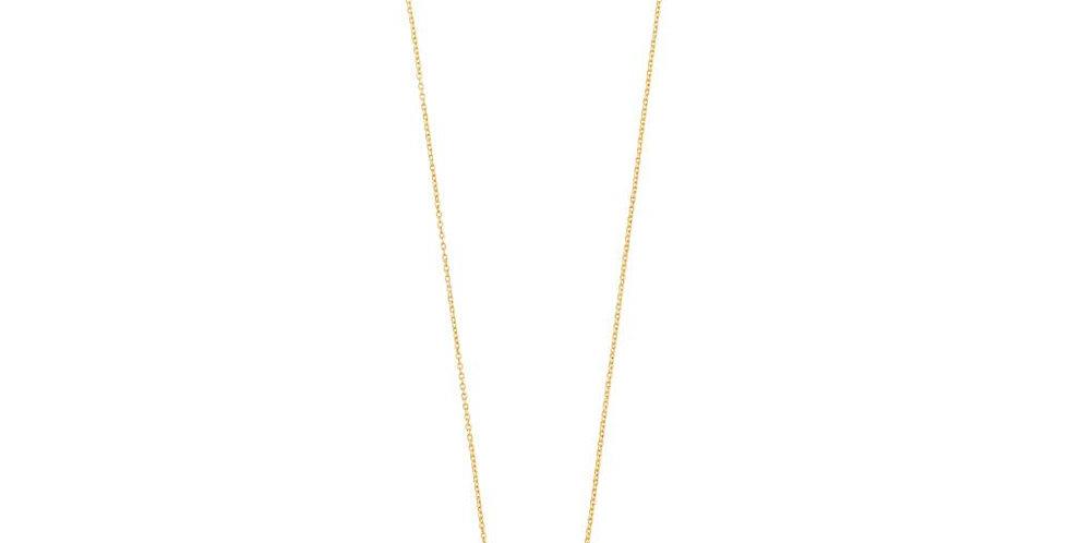 Cubic Zirconia Goddess Necklace
