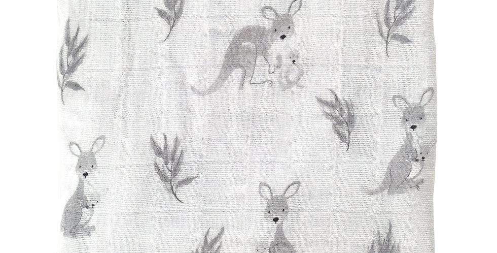 Mister Fly Kangaroo Muslin Wrap