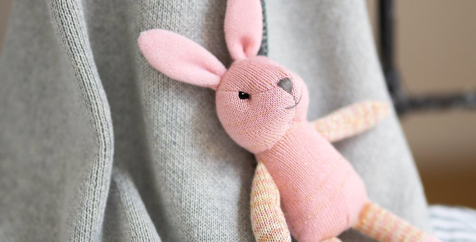 Button the Bunny Rattle
