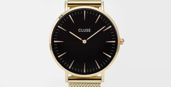 Cluse La Boheme Mesh Gold/Black Watch