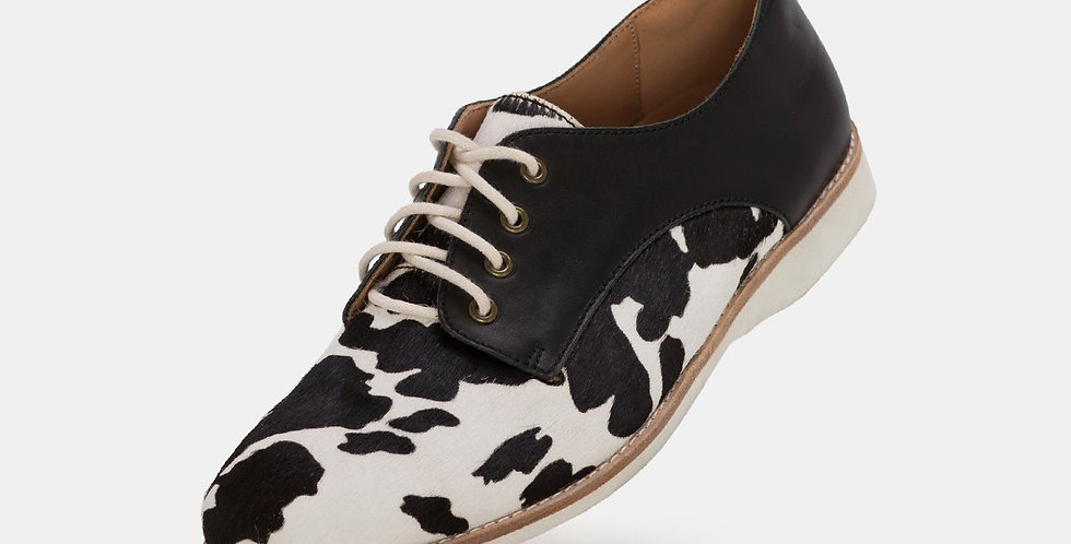 Derby Cow Hide/Black