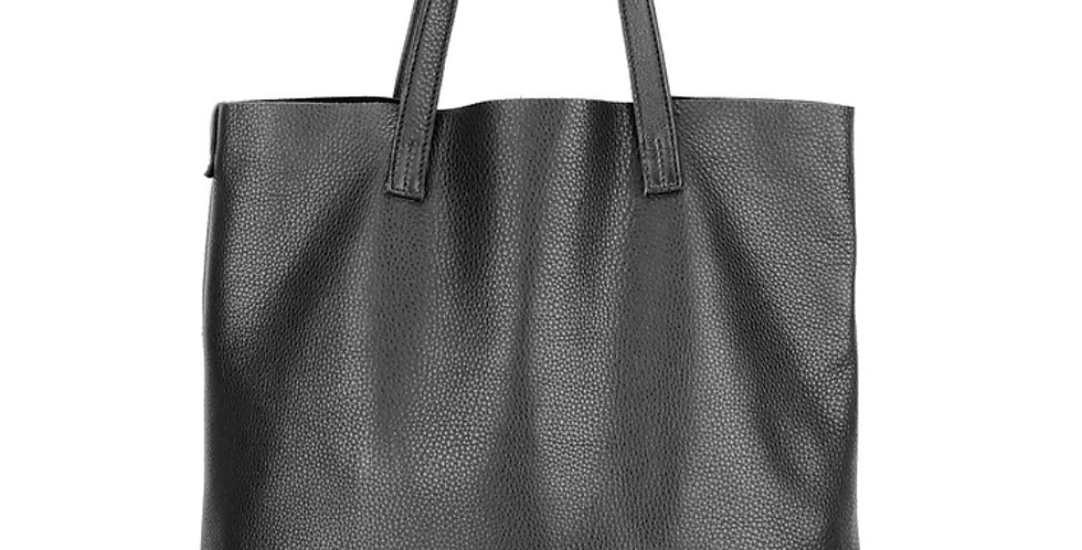 Roamer Leather Bag - Black