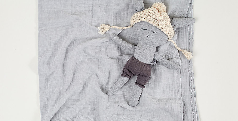 Baby Muslin - Grey