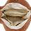 Thumbnail: Natural Long Handle Bag - Rust
