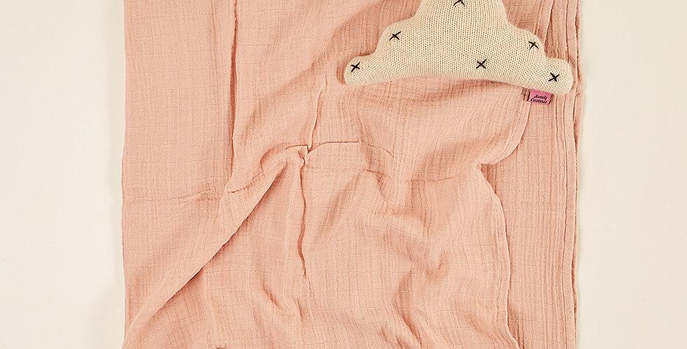 Baby Muslin - Dusty Pink