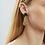 Thumbnail: Tal Earrings - Black/Gold