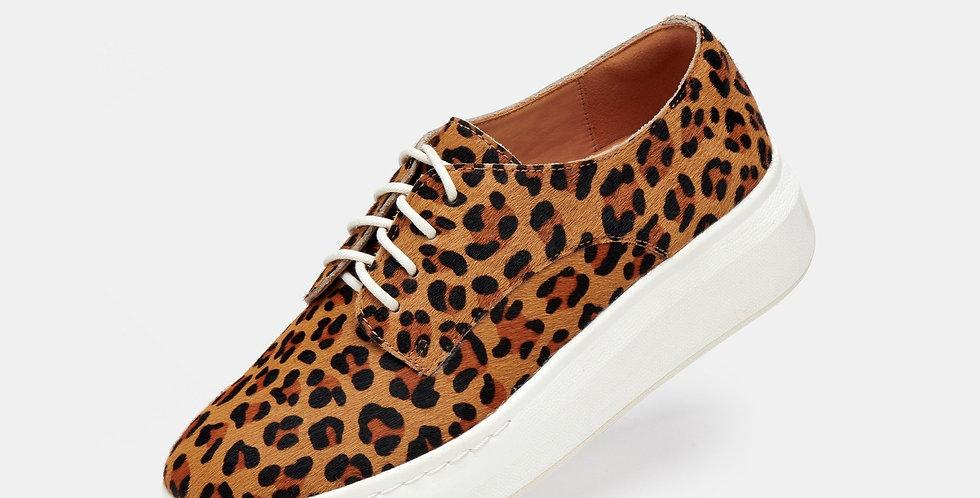 Derby City Cognac Leopard