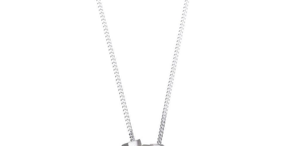 Geometric Triple Necklace