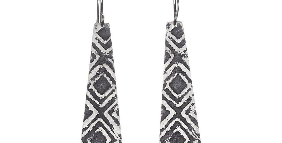 Etched Earrings No. 86