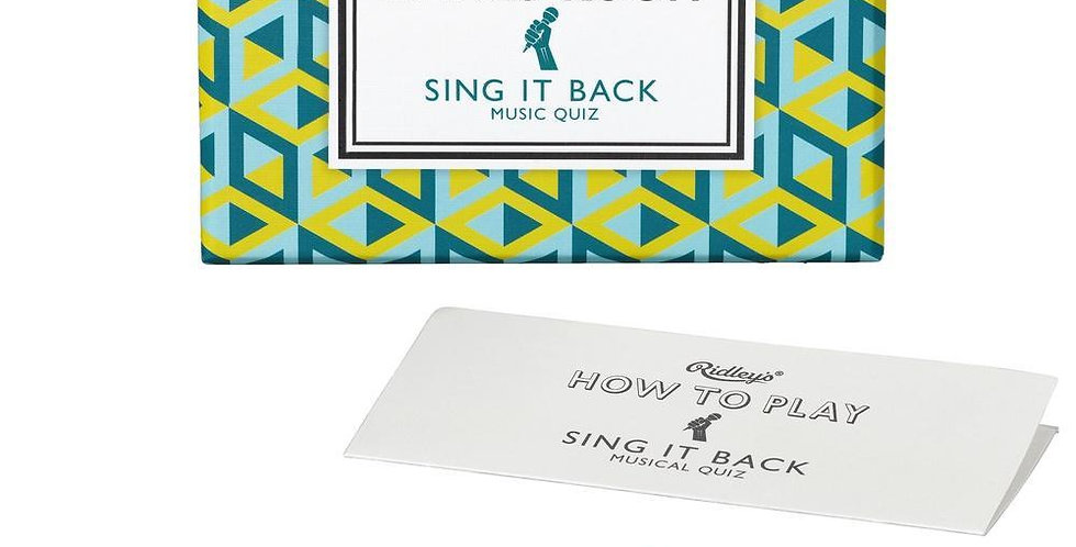 Room Sing It Back Trivia