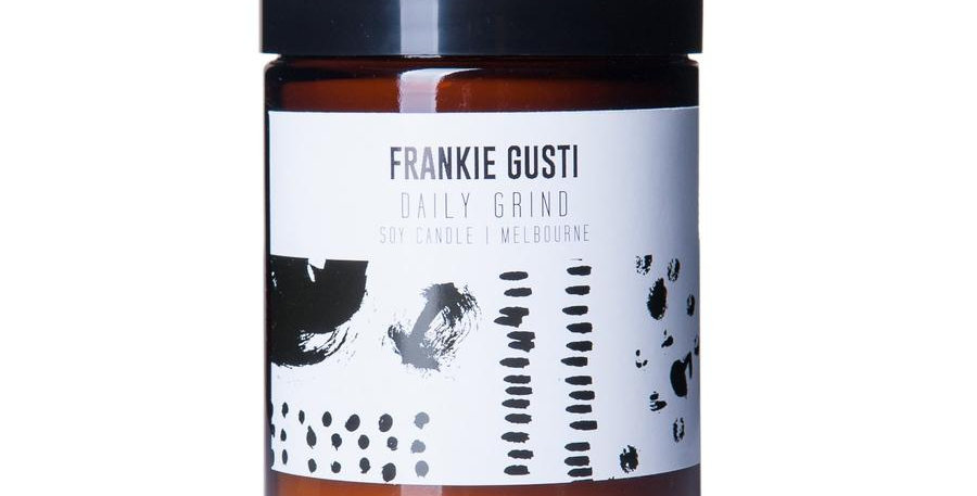 Frankie Gusti Candle - Daily Grind