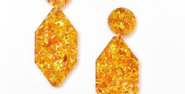 Diamond Earrings - Amber