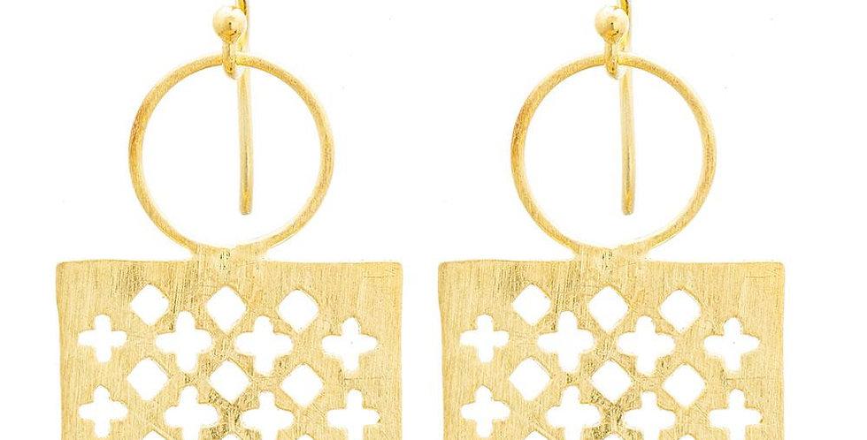 Moroccan Window Earrings