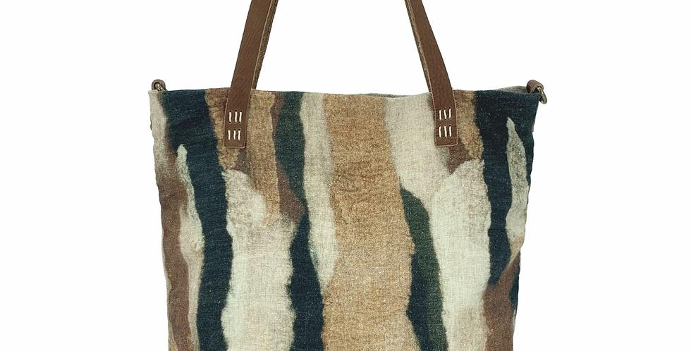 Zebra Art Bag