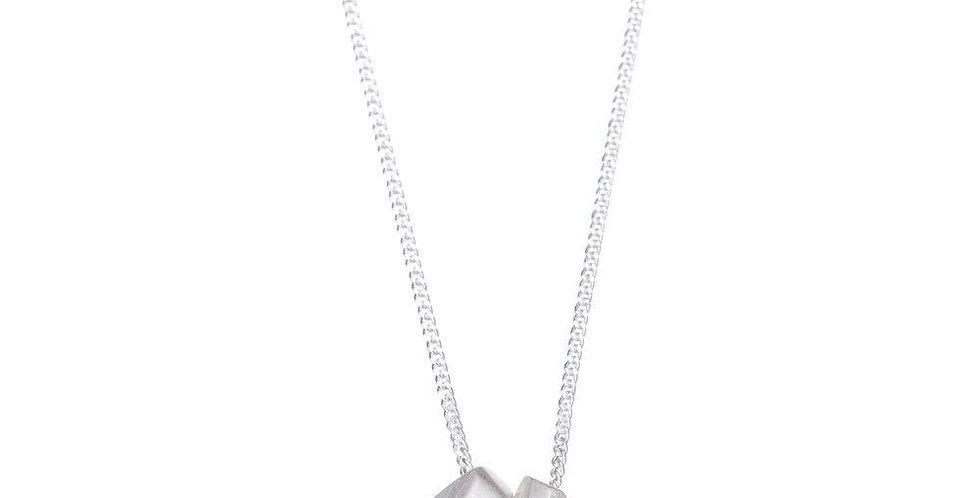Geometric Double Necklace