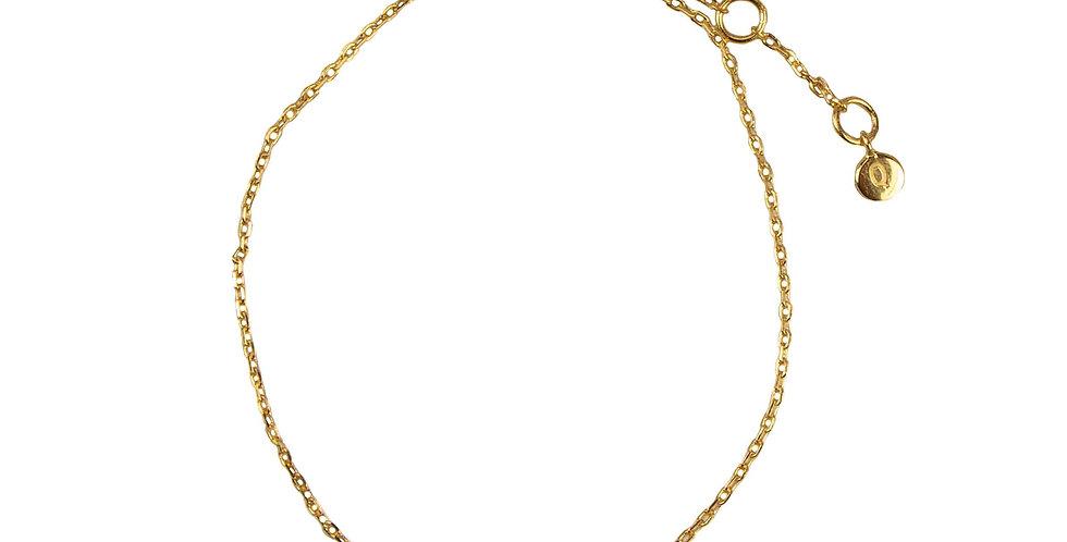 Star Crystal Bracelet- Gold