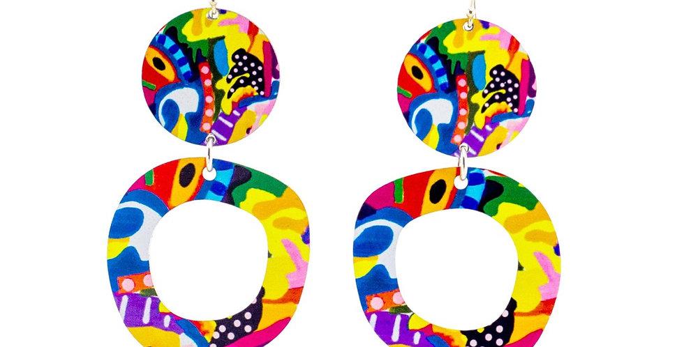 Jennie Riley No. 9 Earrings