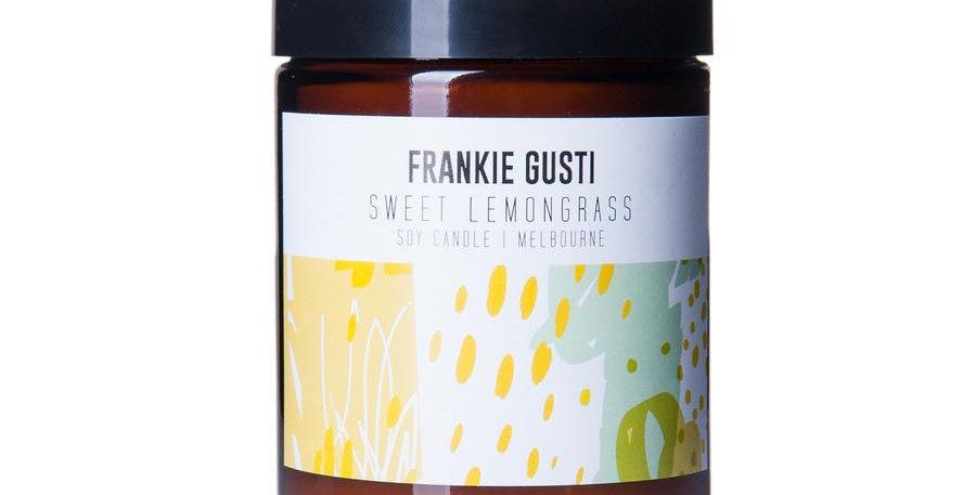 Frankie Gusti Candle - Sweet Lemongrass