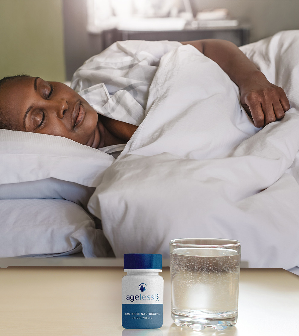 Low Dose Naltrexone (LDN) can help produce better and more restful sleep.