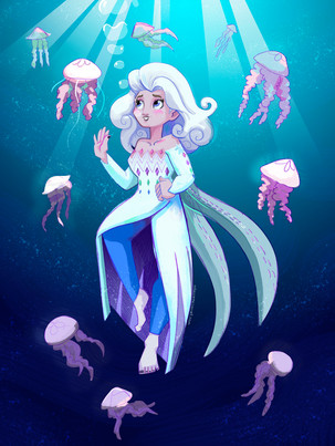 Elsa- Personal Work
