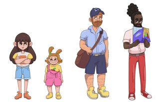 Things You Never Knew Existed Character Art