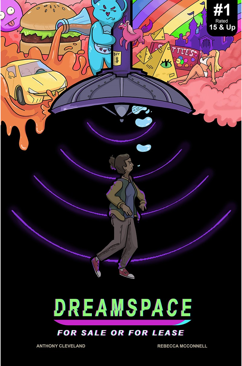 DreamSpace Issue #1, Cover