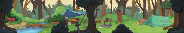 Scrolling BG Forest