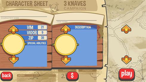 Character Selection Screen UI