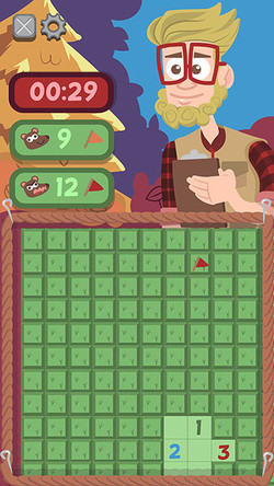 Play Screen for Creature Sweeper