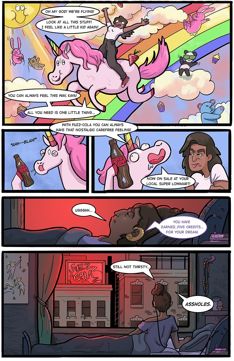 DreamSpace Issue #1, pg 1