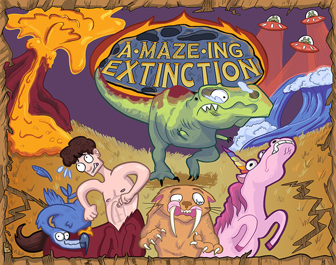 A-Maze-ing Extinction Box Cover