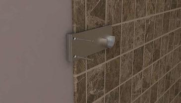 Shower Rod Bracket
