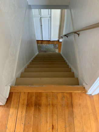 Stairs from upper level