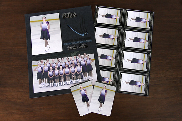 Memory Mate w/ 8 Trading Cards & 2 Fridge Magnets