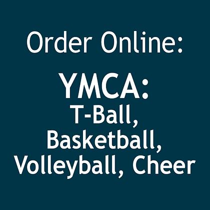 YMCA T-Ball, BB, VB, Cheer