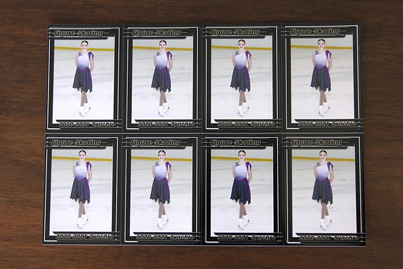 8 Trading Cards