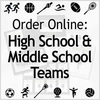 High School & Middle School Teams