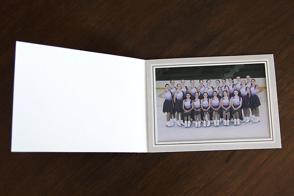 "1 5x7"" Team Photo in Folder"