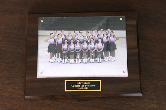 "7x9"" Plaque w/ Team Photo"