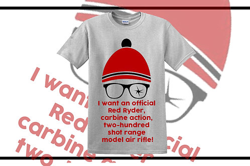 I want an official Red Ryder, carbine action Tee