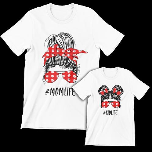 #MOMLIFE/#KIDLIFE TEE BUNDLE