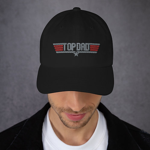TOP DAD Embroidered Dad hat