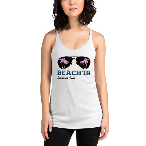 BEACH'IN Women's Racerback Tank